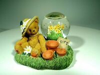 CHERISHED TEDDIES FIGURINE & WATERGLOBE 978981 MAY VERY RARE VTG 2001 MINT