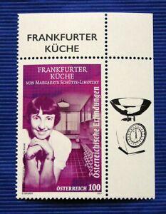 """Frankfurter Einbauküche """"Schütte"""" Serie Österr. Erfindungen - Österr SM 2021**"""