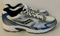 SAUCONY OASIS 2 Men's Running Shoes | White/Blue/Black | Size 12