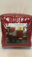 Mainstays Complete Bedding Set 8 Pieces - Size: Full - Red
