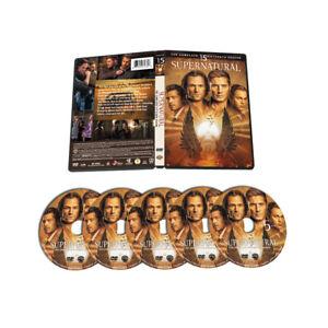 Supernatural: Complete Season 15 [2020] (5 Discs, DVD Box Set, Brand New Sealed)