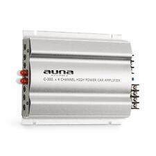 Auto Verstärker 4 Kanal Endstufe Car HiFi Amplifier 800 Watt Bass Boost silber