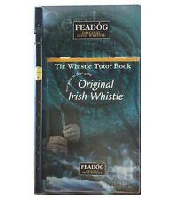 Coloured Feadog Irish Tin Whistle and Tutor Book