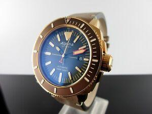 Alpina Seastrong Diver 300 Bronze/PVD AL-525LBBR4V4