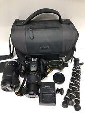 Nikon D5600 Digital Camera Kit  AF-P DX 18-55mm shutter count# 299/serial #1705
