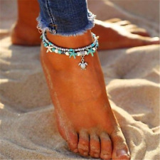 Anklet Beach Sandal Ankle Bracelet Cn Sexy Starfish Turquoise Beads Sea Turtle