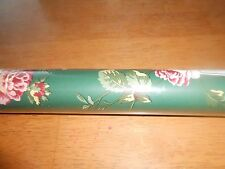 D.W. Wallcovering, Pre-Pasted Wallpaper, 17 feet, Green, floral