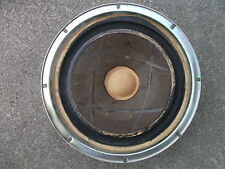 """EARLY ORIGINAL KLH 10"""" WOOFER. FROM MODEL 30, BUT WILL FIT MODEL 20 TOO, 4 OHM"""