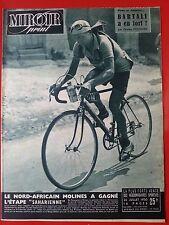 28/07/50 miroir sprint n° TOUR DE FRANCE 1950 LES ETAPES MOLINES