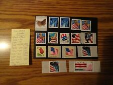 United States - Lot Of 15 Different - Pnc'S Plate Number Coils - Mnh Singles