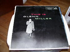 THIS IS GLENN MILLER-LP-NM-BLACK RCA VICTOR LABEL-MONO-DANNY BOY