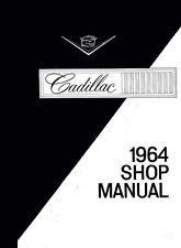 1964 Cadillac Full Line Service Shop Repair Manual Engine Drivetrain Electrical