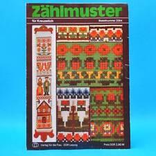 Zählmuster | Für Kreuzstich | Verlag für die Frau # 2054 | DDR 1979 B