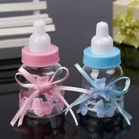 12PCS Fillable Bottles Baby Shower Favour Party Birthday Decor Candy Bear Box