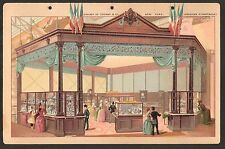 1890's A23 Allen & Ginter Tobacco Card Album Page - Paris Exhibition of 1889 p10