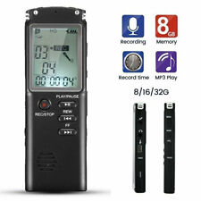 32GB Diktiergerät USB Digital Audio Voice Recorder Aufnahmegerät Sprachaufnahme.