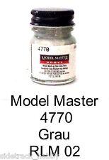 Model Master 4770 Grau RLM 02 1/2 oz Acrylic Paint Bottle