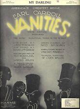 "Helen Broderick ""EARL CARROLL VANITIES"" Milton Berle (Debut) 1932 Sheet Music"