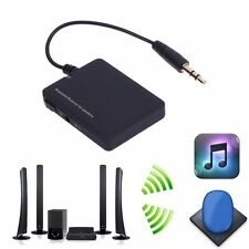 REF Wireless Bluetooth Audio Stereo Music Receiver 3.5mm Car Aux Adapter A2DP UK