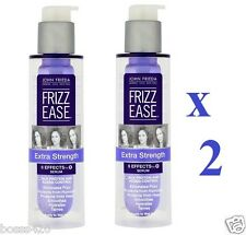 2 x John Frieda Frizz-Ease Extra Strength 6 Effects™ + Serum 50ml Each