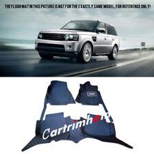 For Land Rover Range Rover Sport 2008-2013 L320 Black Leather Floor Mats Carpets
