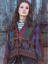 Kim Hargreaves Indian Summer Sweater Kit, Vintage Rowan Lightweight DK Wool