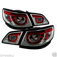 Aftermarket Chrome Housing LED Tail Lights for Holden Commodore VF Models SS SV6