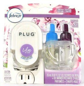 Febreze 0.87 Oz Plug Limited Edition Lilac & Violet Scented Oil Refill & Warmer