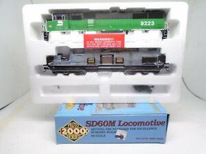 Proto 2000 Ho 30158 SD-60M locomotive, Burlington Northern 9223