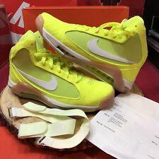 Nike Air Hypermax NFW Tennis Ball Yellow Volt 375946 711 Size 9.5 Lebron Jordan