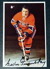 Rare Shortprint 1969 Montreal Canadiens Gilles Tremblay Signed SP Postcard !