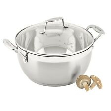 100% Genuine! SCANPAN Impact 26cm 5L Stew Pot 18/10 Stainless Steel! RRP $159.00