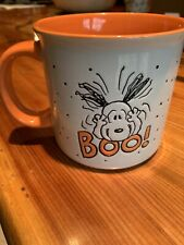 Peanuts Snoopy Boo! Halloween Extra Large Coffee Mug-Microwave Safe New