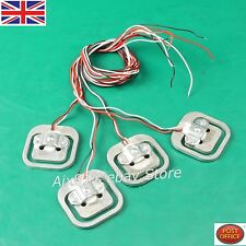 4 Pcs X Body load cell Weighing Sensor RESISTANCE Strain Half-Bridge 200 kg Total