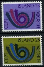 Iceland 1973 SG#502-3 Europa, MNH Set #D56283