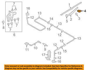 VW VOLKSWAGEN OEM Golf Wiper Washer-Lift Tail Tailgate Gate-Arm Cap 5K6955435