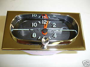 1958 CHEVROLET IMPALA BELAIR BISCAYNE DELRAY NEW CLOCK