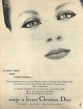 PUBLICITE ADVERTISING 014   1959   DIOR  cosmétiques 2