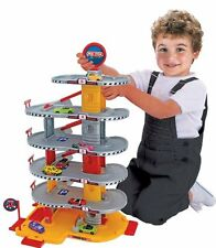 Super Large Tall 6 Levels Garage Car Park Ramp Lift Kids Toy Set + 2 Cars Incl!
