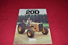 Massey Ferguson 20D Industrial Tractor Dealer's Brochure Lcoh