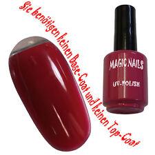 UV Polish Soak Off Gel Nail Art Nagellack Farbe # Lipstick Red