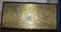 Bellissima scatola porta sigarette vintage - primi '900 - radica