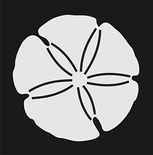 Sand Dollar White Vinyl Car Window Sticker Cutout Bumper Computer
