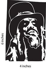 2 PACK ROB ZOMBIE Stickers Cut Vinyl Decal White Zombie Robert Cummings