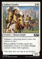 MTG Magic - (C) Core Set 2019 - Gallant Cavalry FOIL - NM/M