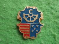KREMNICA Slovakia town city Badge pin Heraldic Crest Shield
