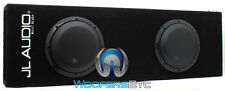 "JL AUDIO CP208LG-W3V3 8"" ENCLOSED BOX 2 8W3V3-4 DUAL 4-OHM SUBWOOFERS SPEAKERS"
