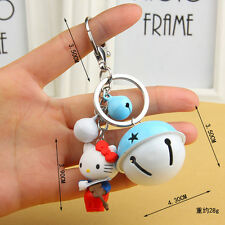 NEW Hello kitty Key chain Modelling of the angel The bell key chain Toy Gift 1