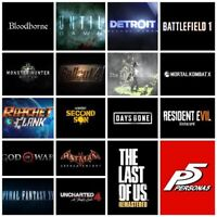 Playstation Plus Collection 20 PS4 / PS5 Games PS PLUS REQUIRED READ DESCRIPTION