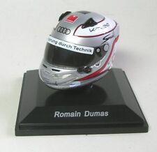 Romain Dumas tête casquée